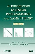 Introduction To Linear Programming and Game Theory (3RD 09 Edition)