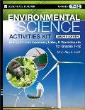 Environmental Science Activities Kit Ready To Use Lessons Labs & Worksheets for Grades 7 12
