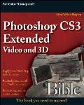 Photoshop Cs3 Extended Video and 3D Bible (Bible)
