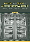 Analysis and Design of Analog Integrated Circuits (5TH 09 Edition)