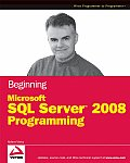 Beginning Microsoft SQL Server 2008 Programming Cover