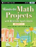 J-B Ed: Hands on #30: Hands-On Math Projects with Real-Life Applications, Grades 3-5