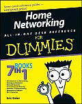 Home Networking All-In-One Desk Reference for Dummies (For Dummies)