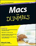 Macs For Dummies 10th Edition
