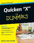 "Quicken ""X"" for Dummies (For Dummies) Cover"