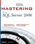 Mastering SQL Server 2008 - With Access Card (09 Edition)