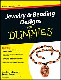 Jewelry & Beading Designs for Dummies (For Dummies) Cover