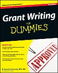 Grant Writing for Dummies 3rd Edition