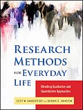Research Methods For Everyday Life Blending Qualitative & Quantitative Approaches