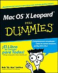 Mac OS X Leopard Para Dummies Cover
