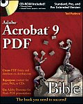 Adobe Acrobat 9 PDF Bible with CDROM (Bible)