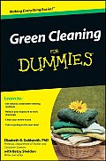 Green Cleaning for Dummies (For Dummies)