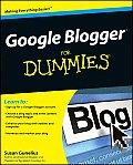 Google Blogger For Dummies