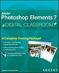 Adobe Photoshop Elements 7 Digital Classroom - With DVD (09 Edition) Cover