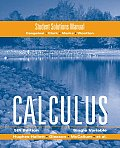 Calculus, Single Variable Student Solution Manual (5TH 09 - Old Edition)