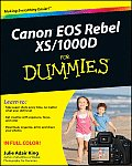 Canon EOS Rebel XS/1000D for Dummies (For Dummies)