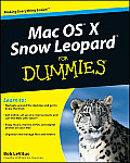 Mac OS X Snow Leopard for Dummies (For Dummies) Cover