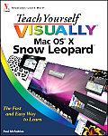 Teach Yourself Visually Mac OS X Snow Leopard (Teach Yourself Visually) Cover