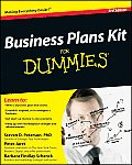 Business Plans Kit for Dummies [With CDROM] (For Dummies)