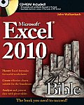 Excel 2010 Bible - With CD (10 Edition)