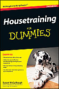 Housetraining for Dummies Cover
