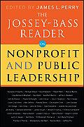 Jossey Bass Reader On Nonprofit & Public Leadership