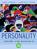 Personality : Theory and Research (11TH 09 - Old Edition) Cover