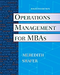 Operations Management for Mbas (4TH 10 - Old Edition)