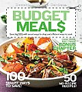 Better Homes & Gardens Cooking #42: Better Homes and Gardens Budget Meals: Save Big $$$ with Smart Ways to Shop and Efficient Ways to Cook