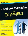 Facebook Marketing for Dummies 1st Edition