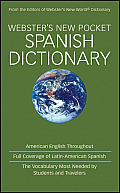 Websters New Pocket Spanish Dictionary Cover