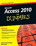 Access 2010 for Dummies Cover