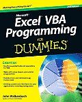 Excel VBA Programming For Dummies 2nd Edition