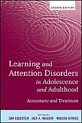 Learning and Attention Disorders in Adolescence and Adulthood: Assessment and Treatment