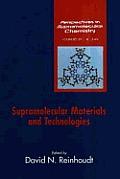 Supramolecular Materials and Technologies
