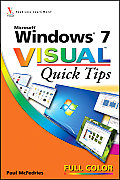 Windows 7 Visual Quick Tips (Visual Quick Tips)