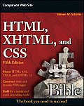 HTML XHTML & CSS Bible 5th Edition