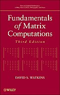 Fundamentals of Matrix Computations (3RD 10 Edition) Cover