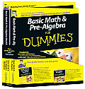 Basic Math & Pre-Algebra for Dummies Education Bundle