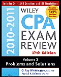 Wiley CPA Examination Review, Problems and Solutions (Wiley CPA Examination Review Vol. 2: Problems & Solutions)