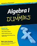 Algebra I For Dummies 2nd Edition