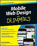 Mobile Web Design for Dummies Cover