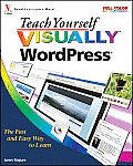 Teach Yourself VISUALLY WordPress 1st Edition