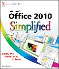 Microsoft Office 2010 Simplified (10 Edition) Cover