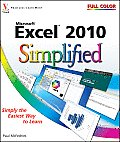 ... Simplified #16: Excel 2010 Simplified Cover