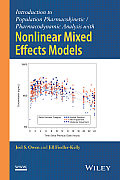 Introduction to Population Pharmacokinetic/Pharmacodynamic Analysis with Nonlinear Mixed Effects Models