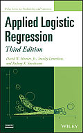 Applied Logistic Regression (3RD 13 Edition)
