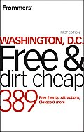 Frommers Washington DC Free & Dirt Cheap