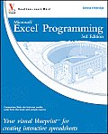 Excel Programming Your Visual Blueprint for Creating Interactive Spreadsheets 3rd Edition