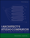 Architect's Studio Companion: Rules of Thumb for Preliminary Design (5TH 12 Edition)